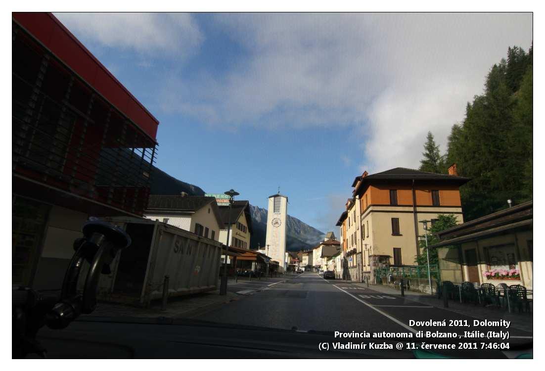 Příjezd do Brenneru