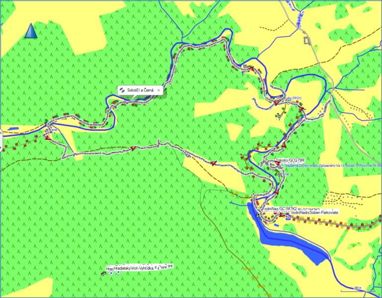 OSM mapa