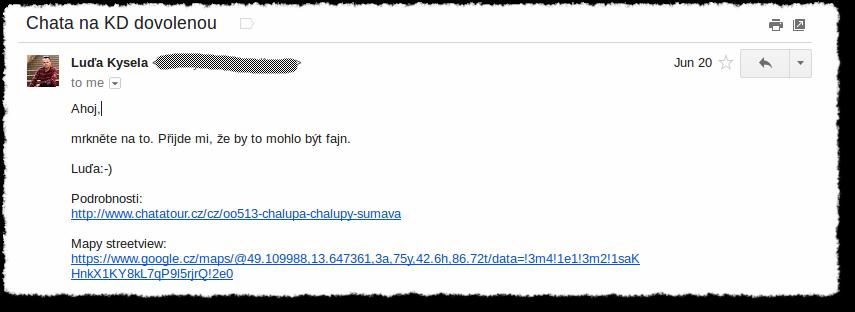 Osudový email